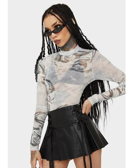 Dark Dynasty Sheer Bodysuit