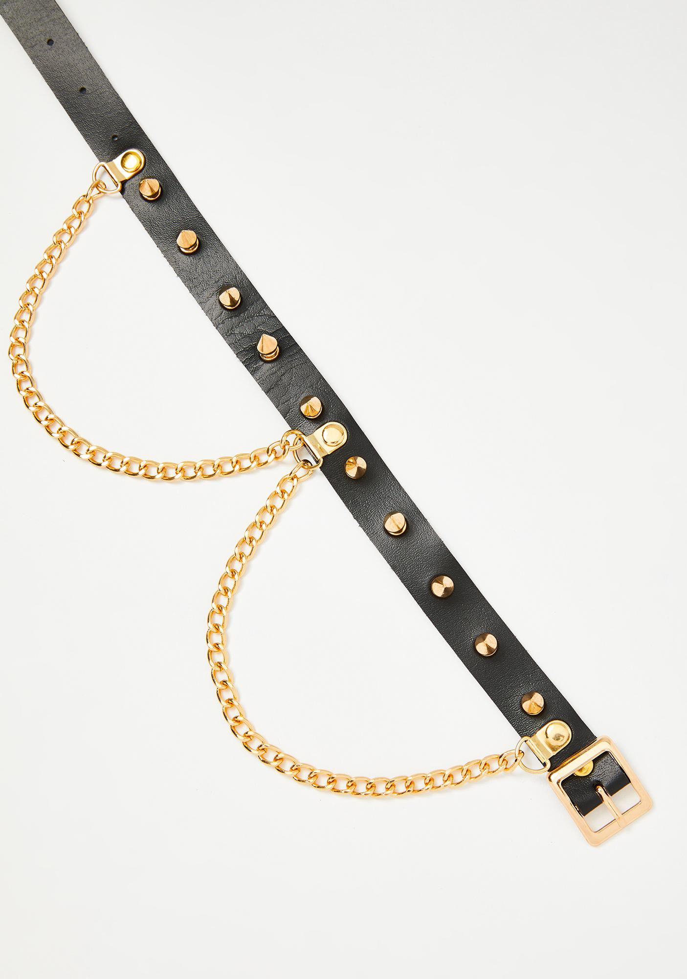 Royally Bewitched Spiked Choker