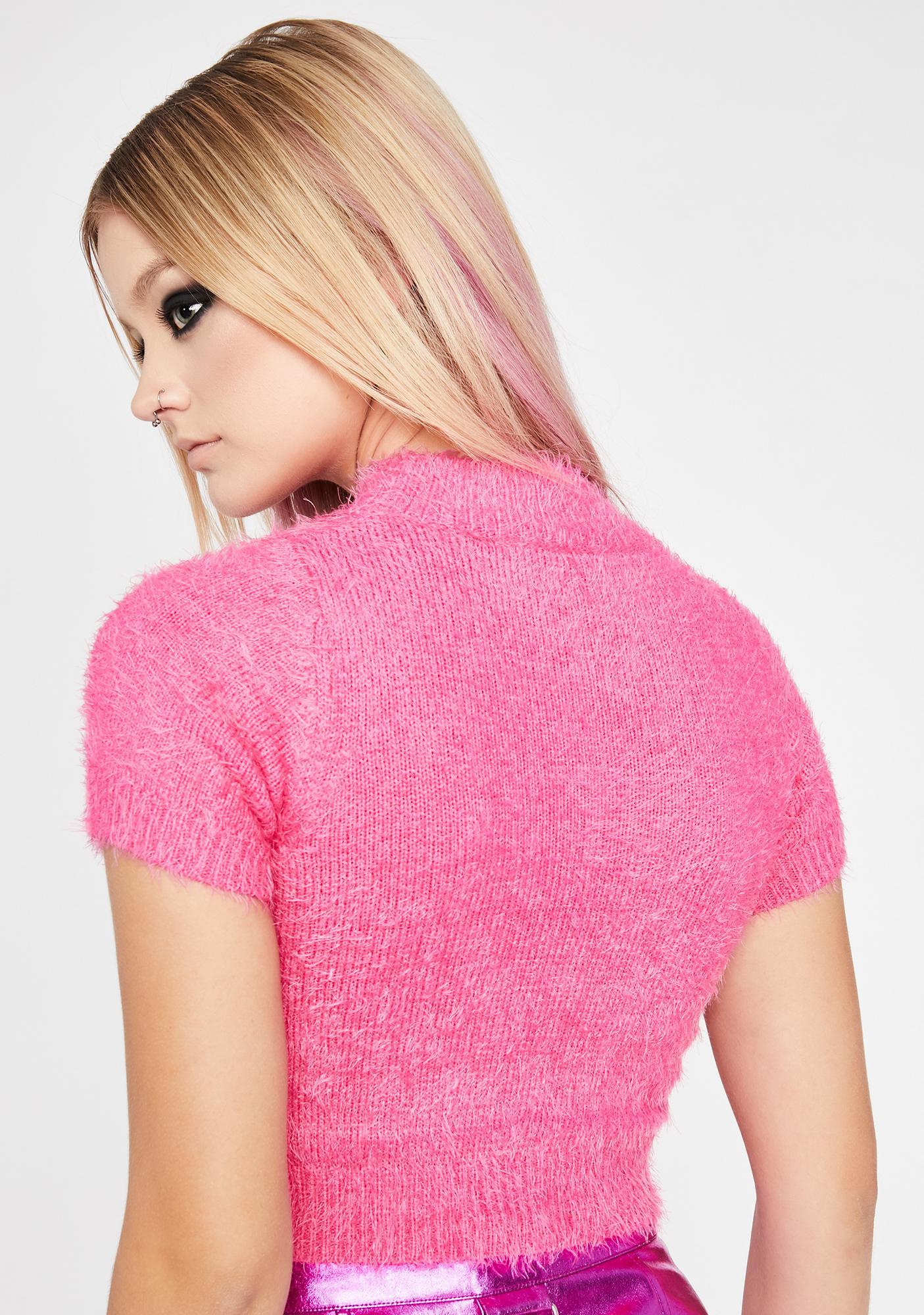 HOROSCOPEZ K Bye Fuzzy Sweater