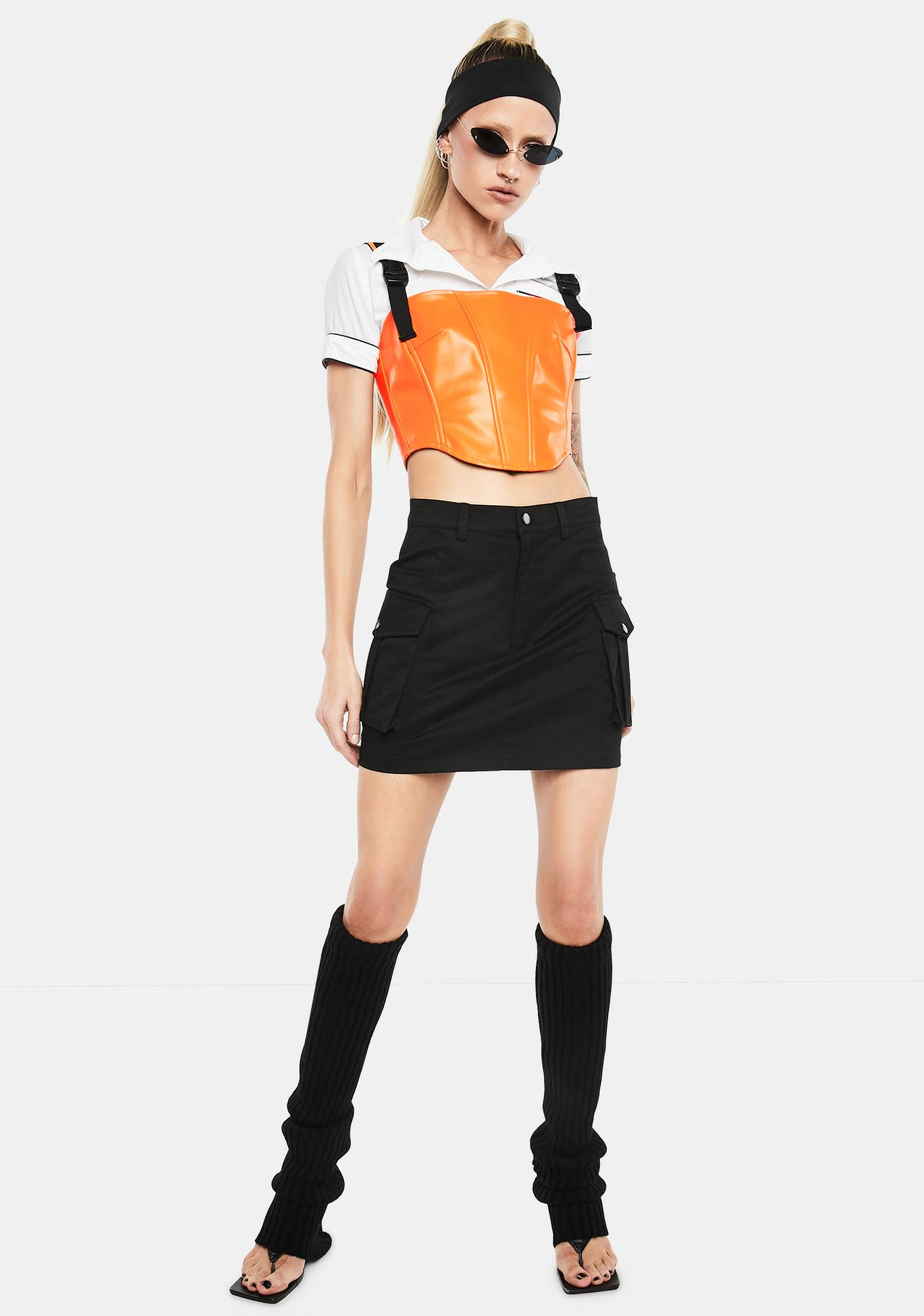 Club Exx Bring The Energy Corset Top