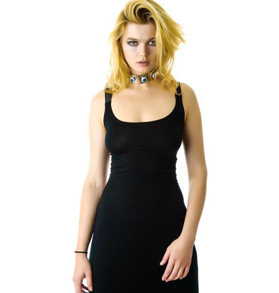 Caged Heat Maxi Dress