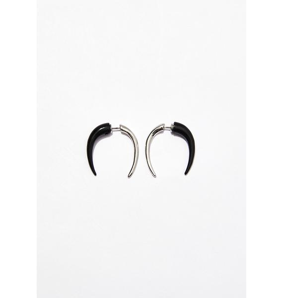Hellraiser Horn Earrings