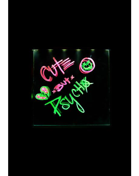 Light Me Up Neon Effect Frame