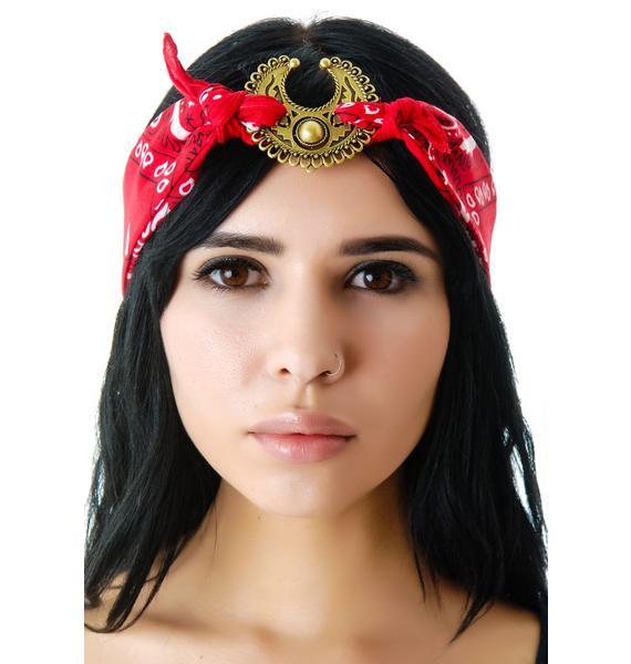 Vanessa Mooney Mercutio Scarf Headpiece
