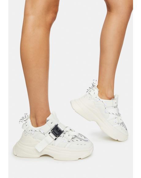 Icy Astro Stomp Platform Sneakers