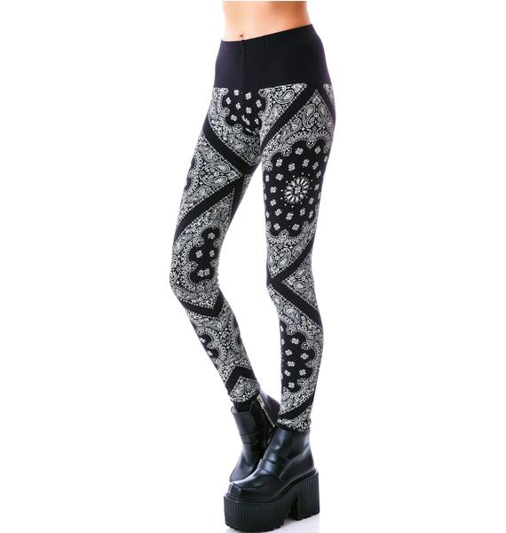 Compton Cotton Leggings