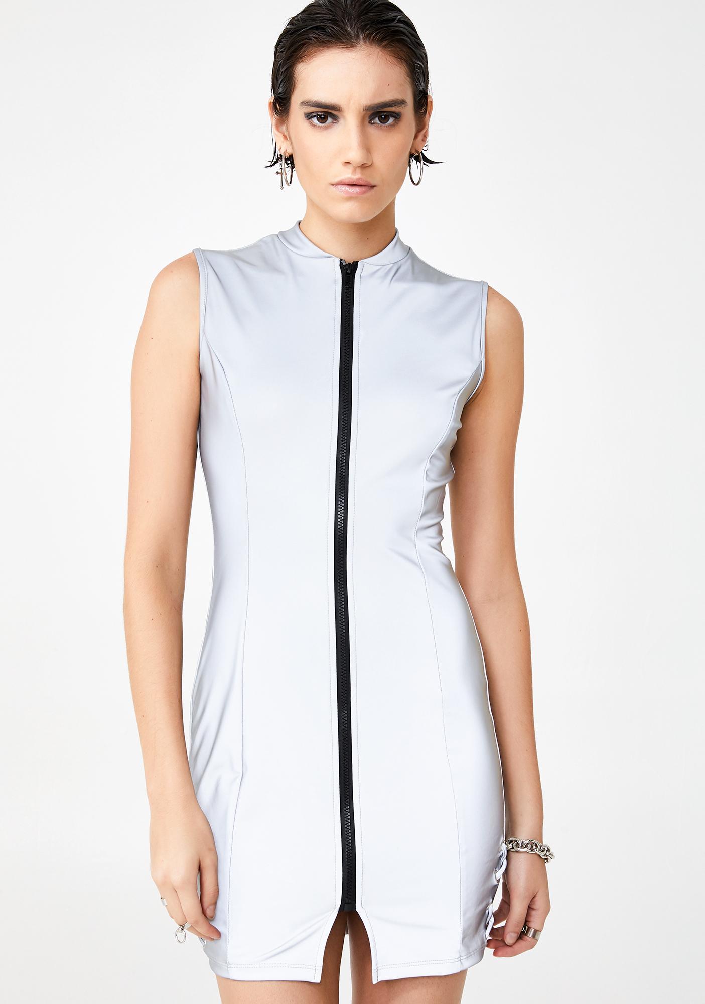 Boss Elements Reflective Dress