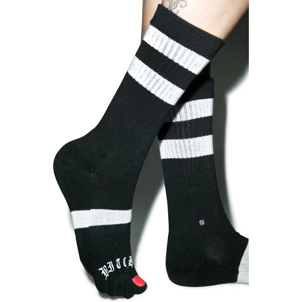 Stance Bitch What Toe Socks