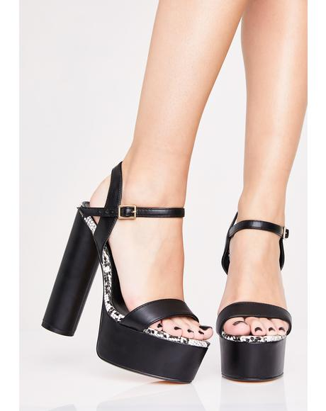 Poisoned Lover Platform Heels