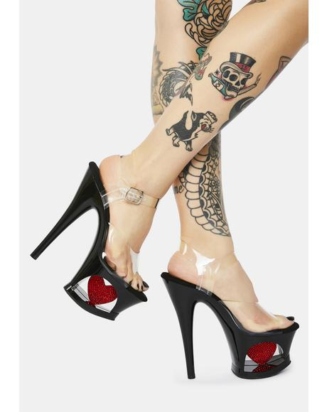 Love Unleashed Platform Heels