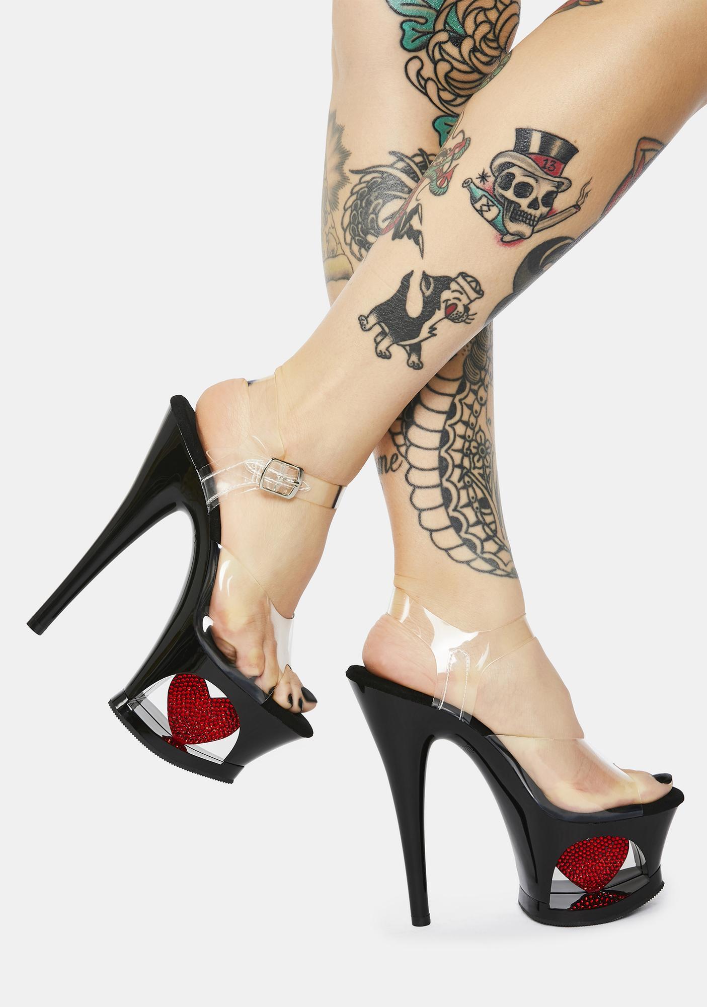 Pleaser Love Unleashed Platform Heels