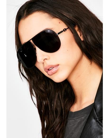 Callin' The Shots Aviator Sunglasses