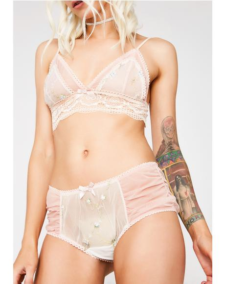 Ethereal Romance Sheer Panties