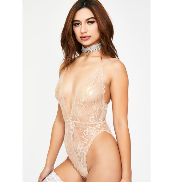 Dressed To Undress Lace Bodysuit