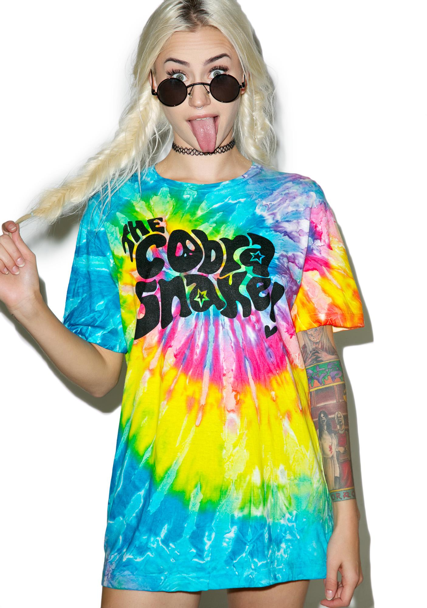 The Cobra Snake Hippie Vibes 2.0 Tee