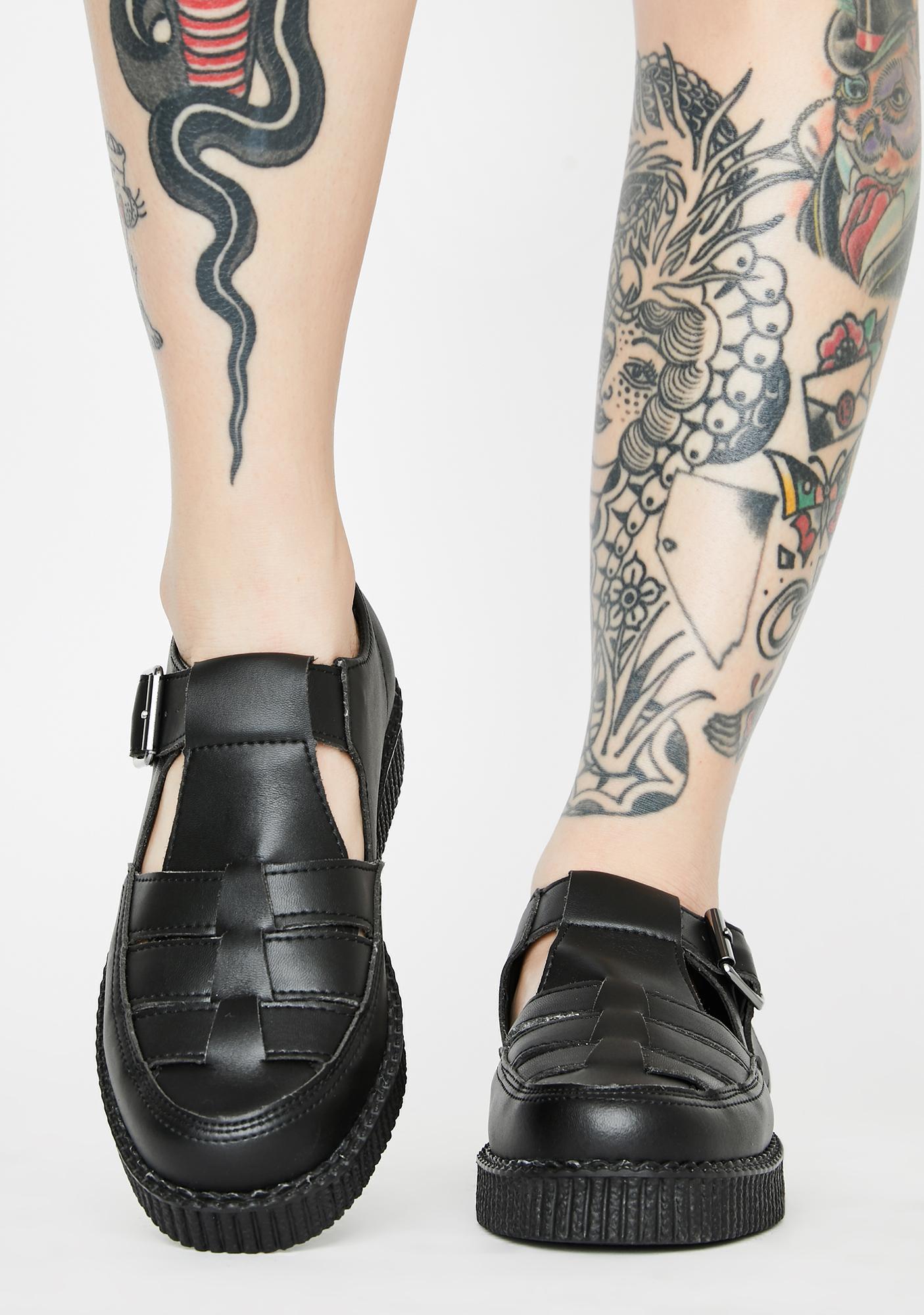 T.U.K. TUKskin Vivall Woven Sandals