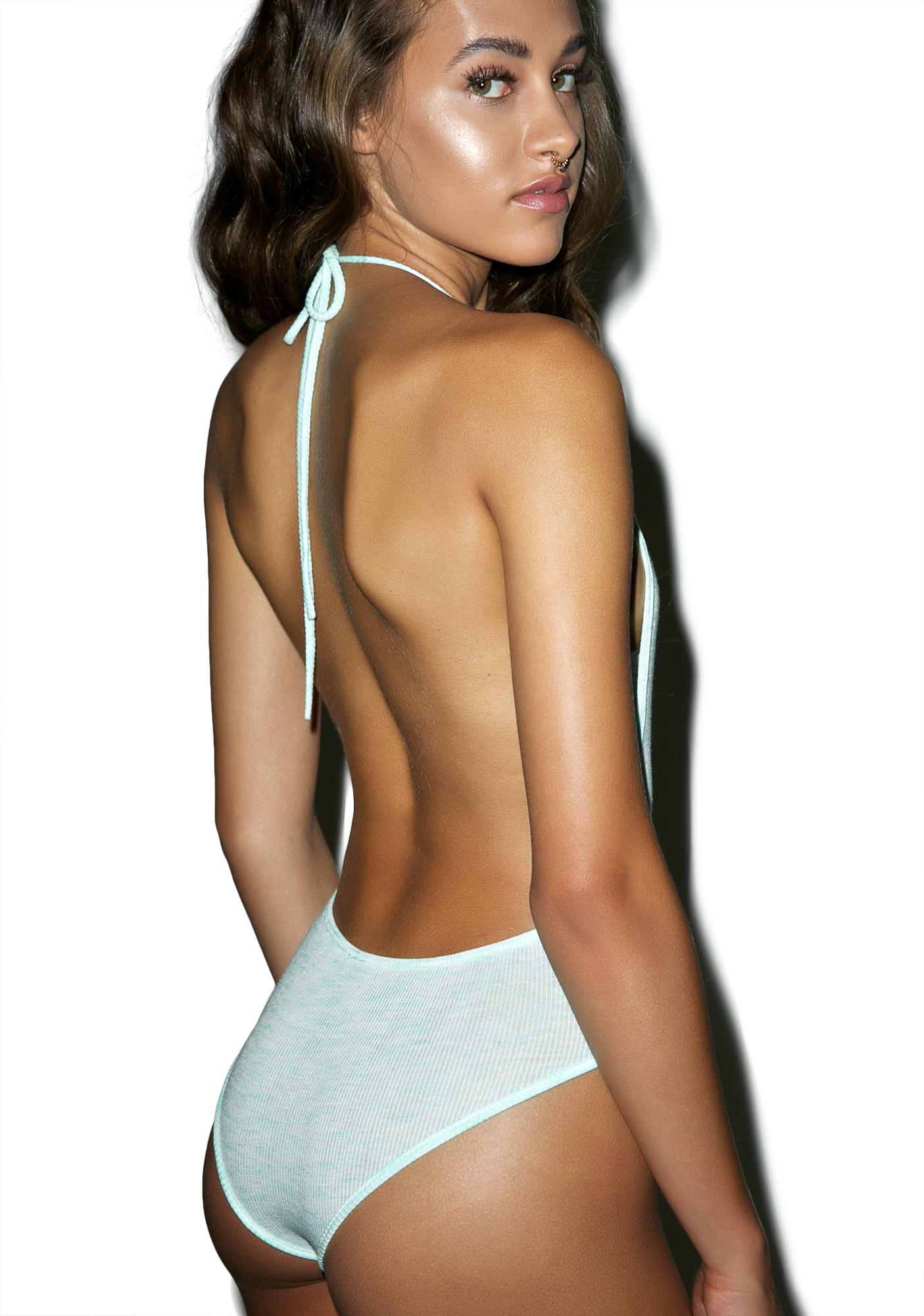 Fresh 'N Clean Halter Bodysuit