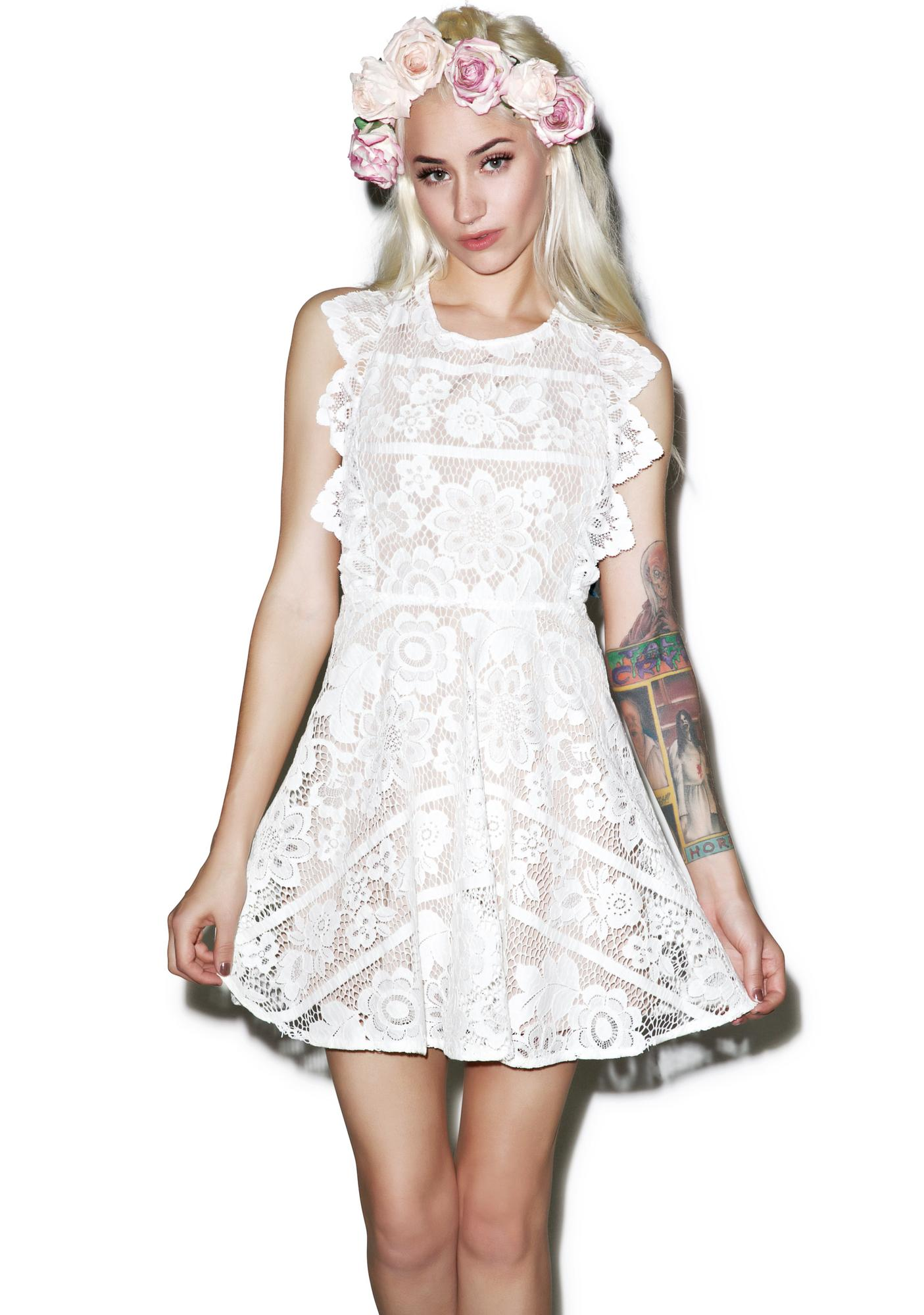 For Love & Lemons Gianna Apron Dress