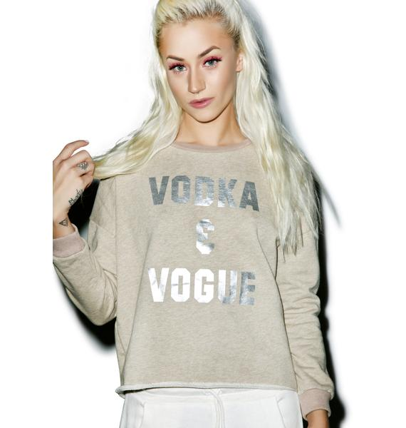 Mink Pink Vodka & Vogue Sweater