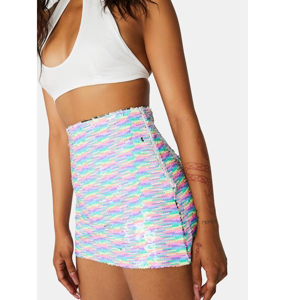 Magic Fusion Sequin Skirt