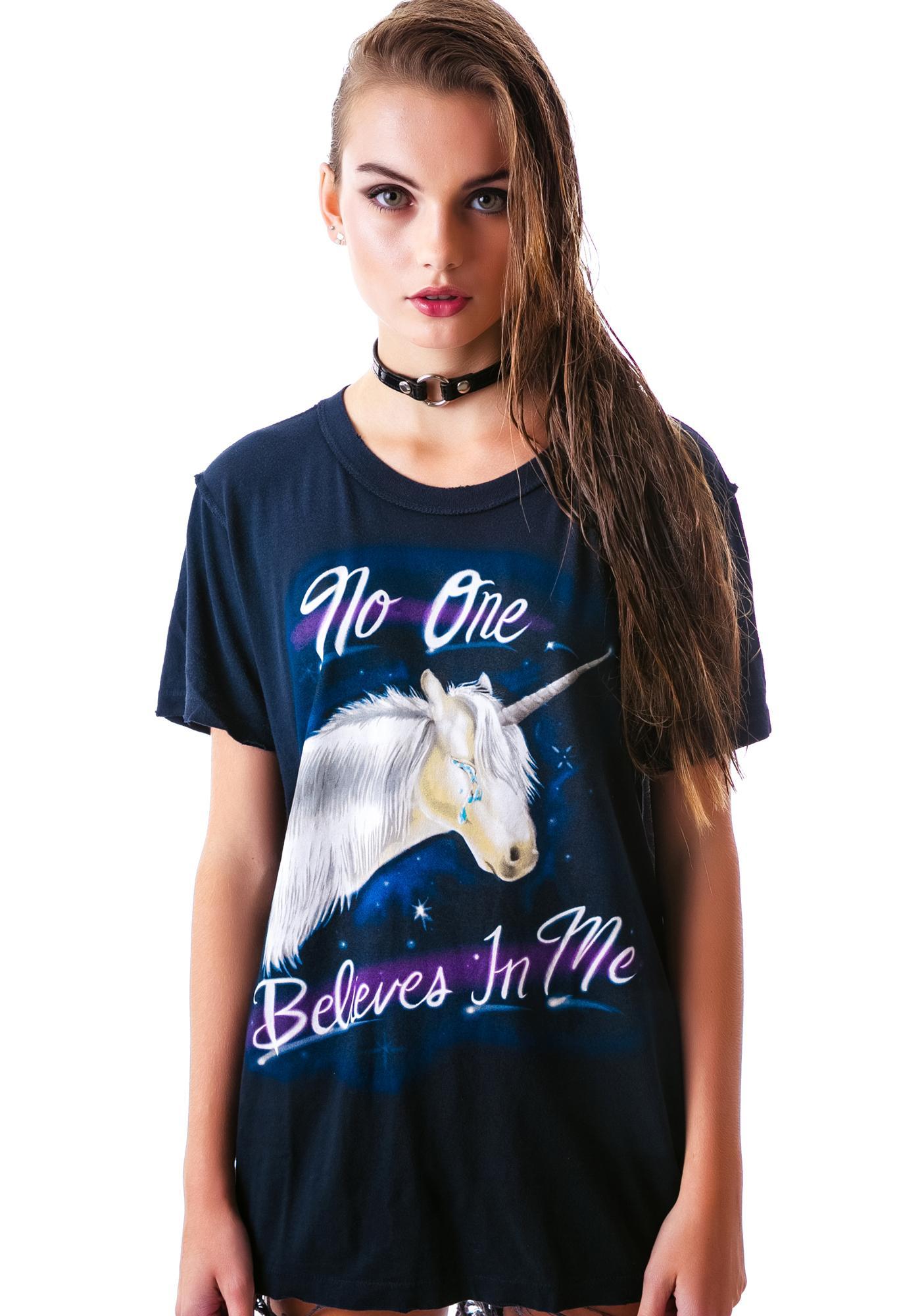 UNIF Unicorn Believes Short Sleeves