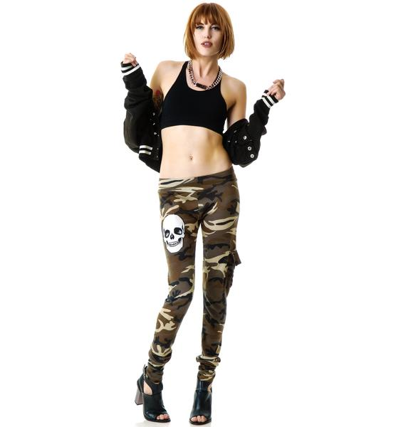 Lauren Moshi Izzy Camo Cargo Pants