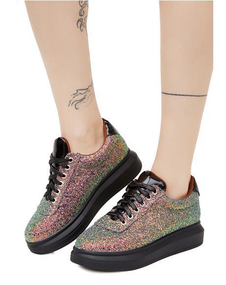 Sparkle Stomp Glitter Sneakers