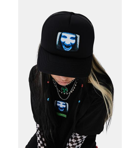 Pleasures X Marilyn Manson TV Trucker Hat