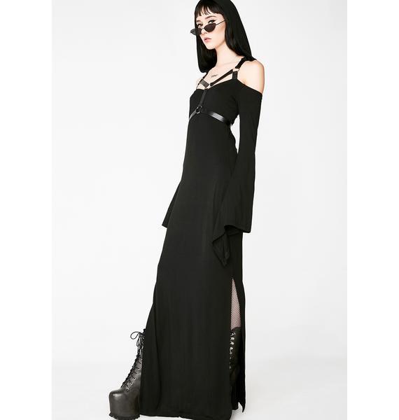 Killstar Tabitha Tomb Maxi Dress