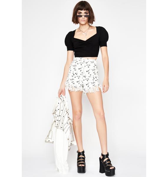 Sun-Sational Floral Shorts