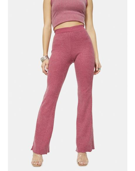 Cora Ribbed Pants