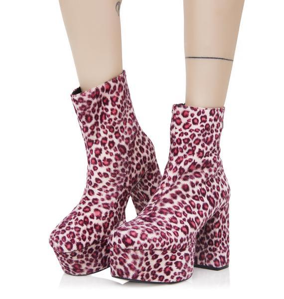 Sugar Thrillz Josie Platform Boots