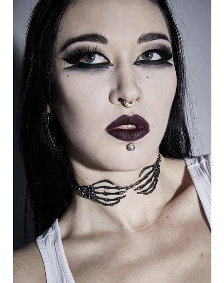 Death's Embrace Chain Choker