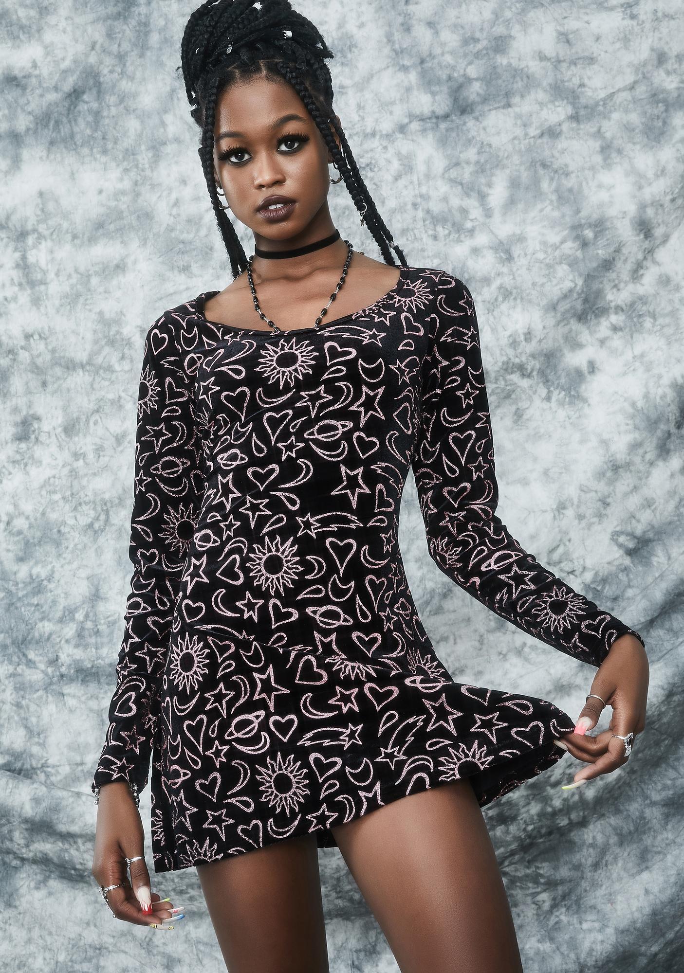 dELiA*s by Dolls Kill Girl Of Ur Nightmares Mini Dress