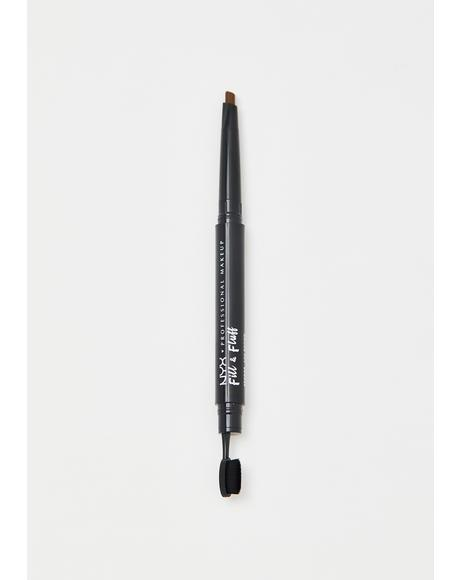 Ash Brown Fill & Fluff Eyebrow Pomade Pencil