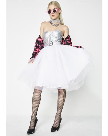 A Twirl Away Tulle Skirt
