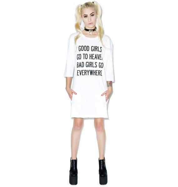 HLZBLZ Good Vs. Bad Dress