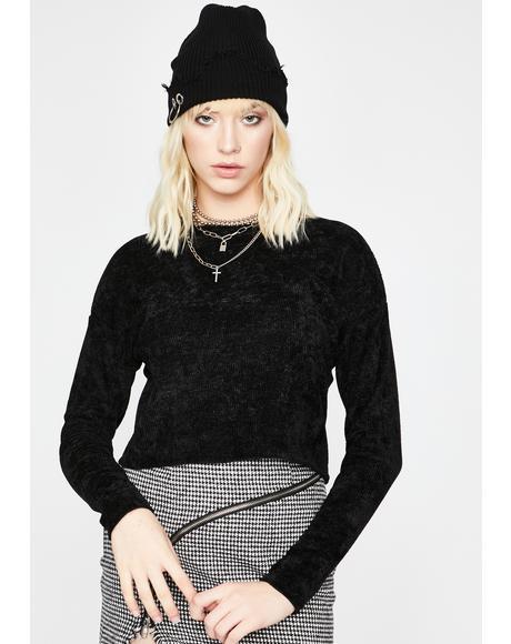 Get A Freakin' Clue Knit Sweater