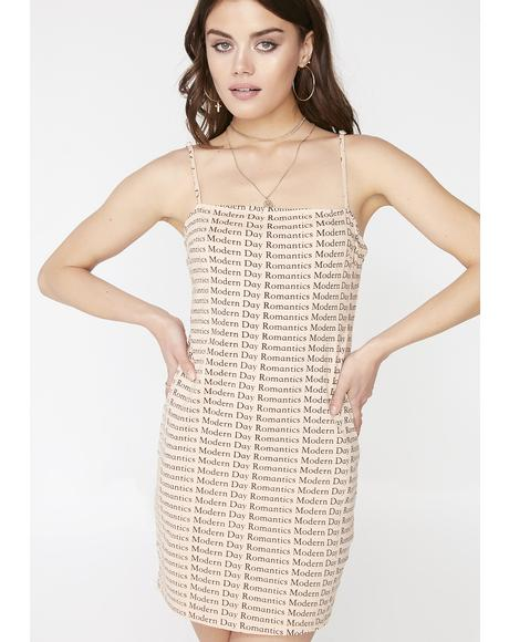 Latte Selah Dress