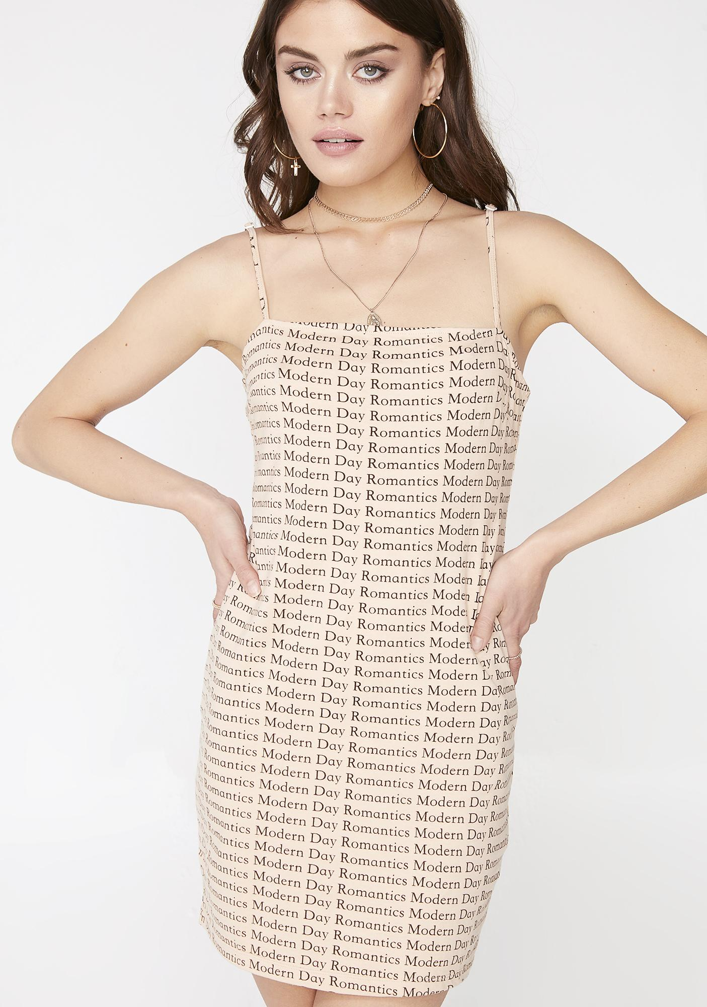 Motel Latte Selah Dress