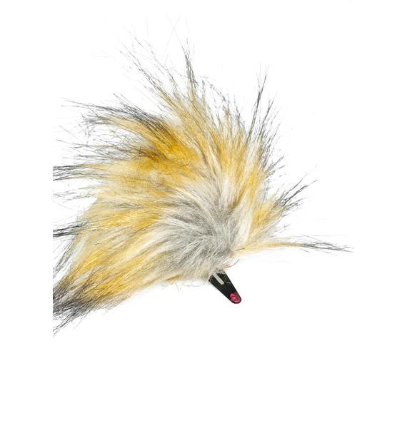 KritterKlips Sparkle Blonde Clip In Ears