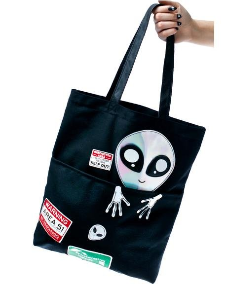 Area Fifty-Fun Tote Bag
