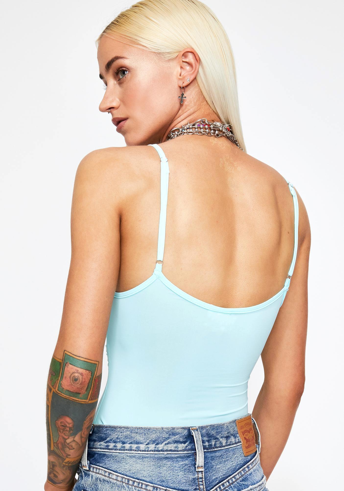 Aqua Electro Joy Cut Out Bodysuit
