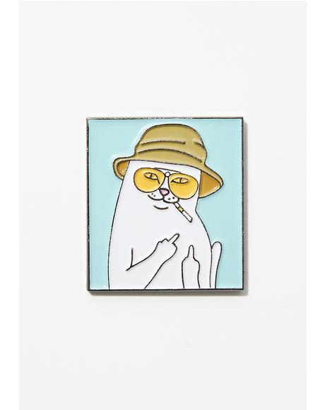 Nermal S. Thompson Pin