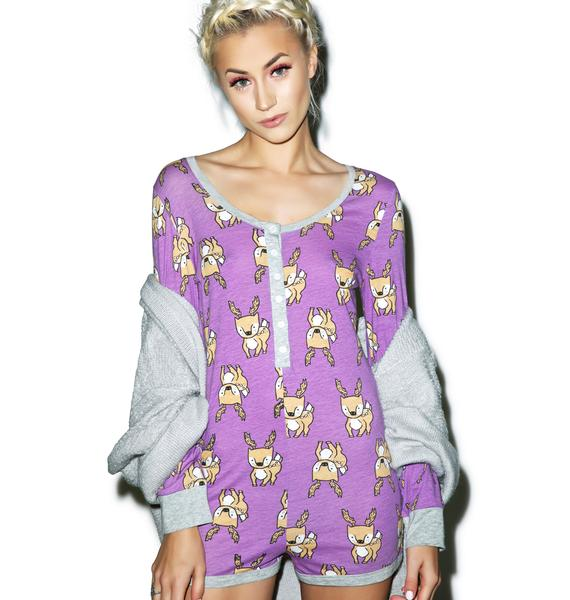 Mink Pink I Deer You Playsuit