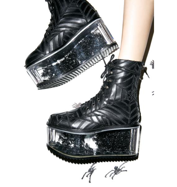Harlots Web Boots