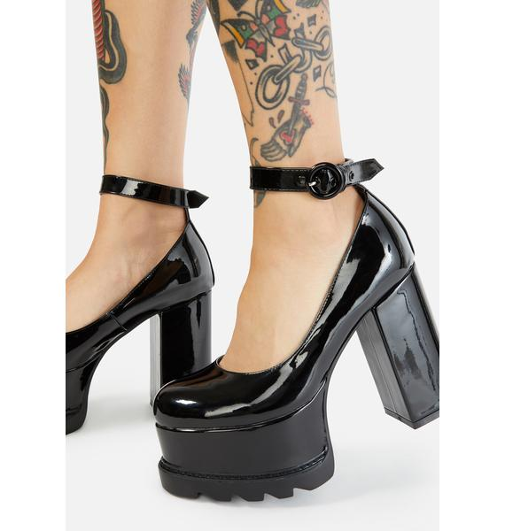 Lamoda Evil Attraction Platform Mary Janes