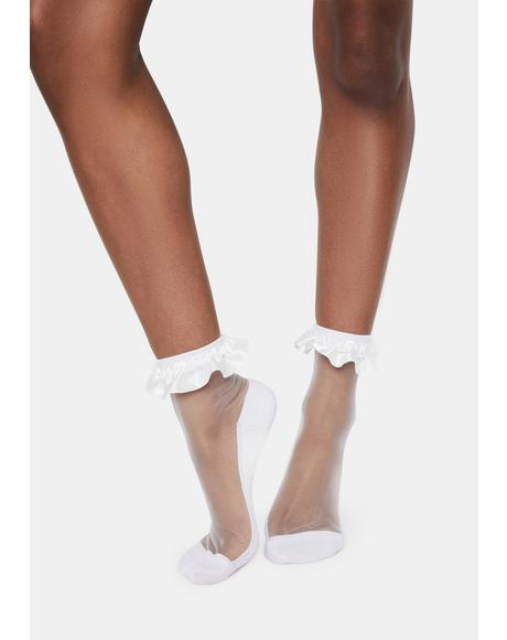 Dainty Bliss Ruffle Socks