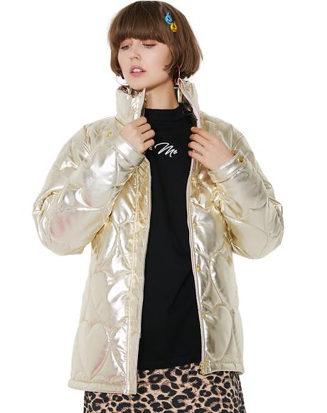 Golden Child Puffer Jacket