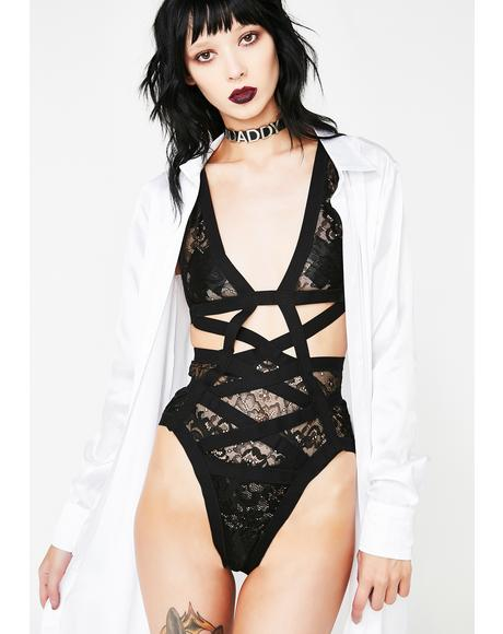 Get Ya Freak On Lace Bodysuit